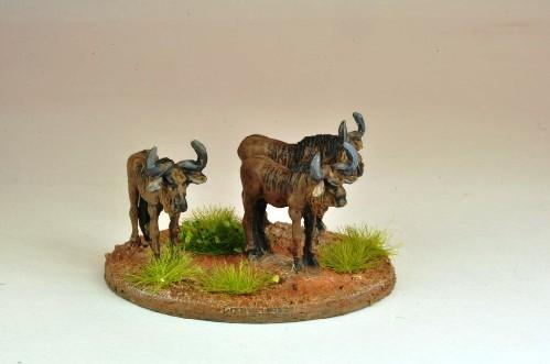 28mm Modern: North Star Africa - Gnu / Wildebeast (5)