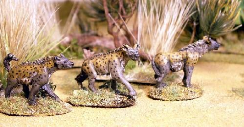 28mm Modern: North Star Africa - Spotted Hyena (3)