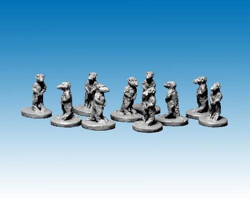 28mm Modern: North Star Africa - Meerkats (10)