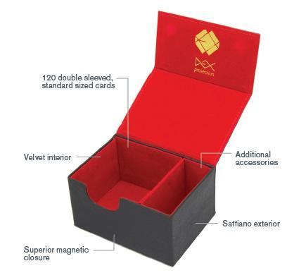 Dex Protection: Creation Line - Medium Deckbox - Red