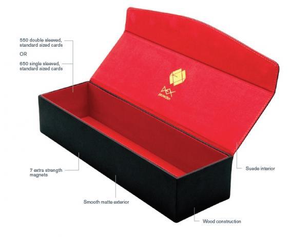 Dex Protection: Supreme One Row Deckbox - Black