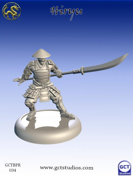 Bushido Miniatures: (Prefecture Of Ryu) Hiryu