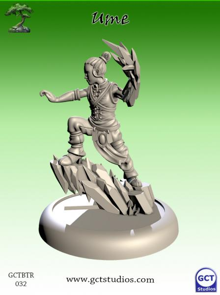 Bushido Miniatures: (Temple Of Ro-Kan) Ume