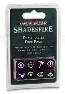 Warhammer Underworlds: Shadespire Deathrattle Dice