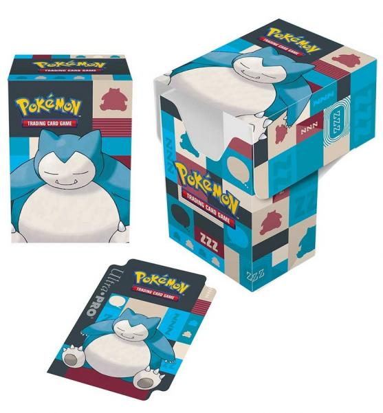 Deck Box: Pokémon Snorlax Full-View Deck Box