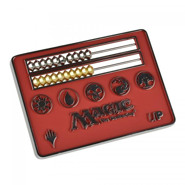 Magic The Gathering: Card Size Abacus Life Counter - Red