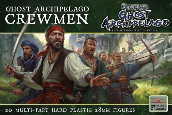 Frostgrave: Ghost Archipelago Crewmen (20) (plastic box set)