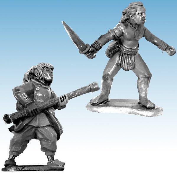 Frostgrave: Ghost Archipelago Pearl Diver & Guide (2)