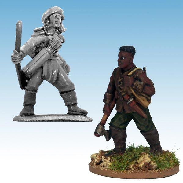 Frostgrave: Ghost Archipelago Tomb Robber & Scout (2)