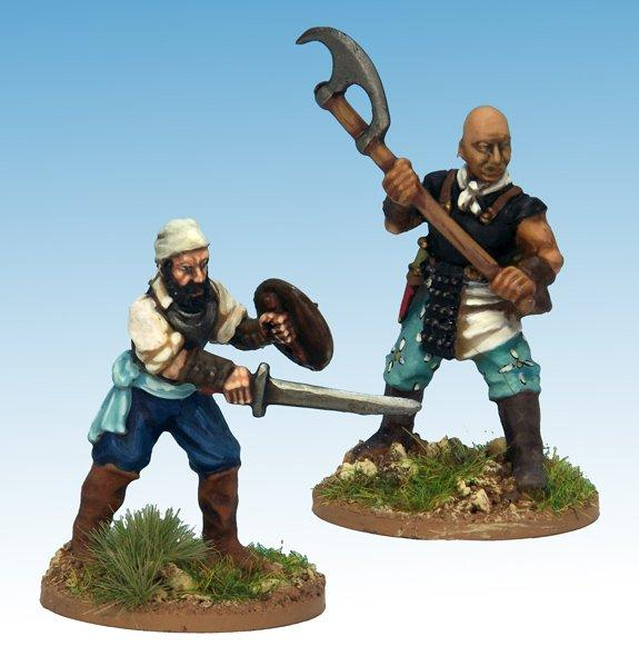 Frostgrave: Ghost Archipelago Freebooter & Mercenary (2)