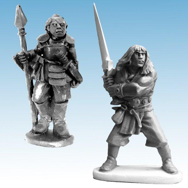 Frostgrave: Ghost Archipelago Savage & Hunter (2)