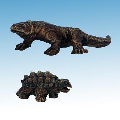 Frostgrave: Ghost Archipelago Large Lizard & Snapping Turtle (2)