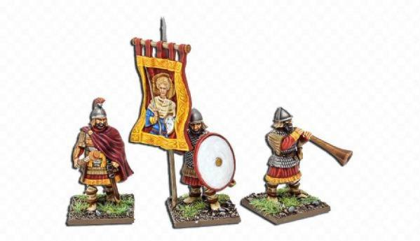 28mm Deus Vult: Byzantine Command