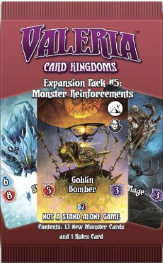 Valeria Card Kingdoms: Monster Reinforcements Expansion Pack (1)