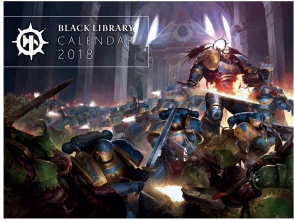 WH40K: Black Library Calendar 2018