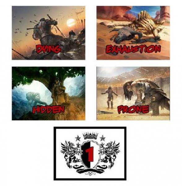 D&D: 5E Combat Cards