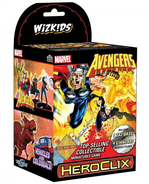 Marvel Heroclix - Avengers Infinity Colossal Booster Pack (1)