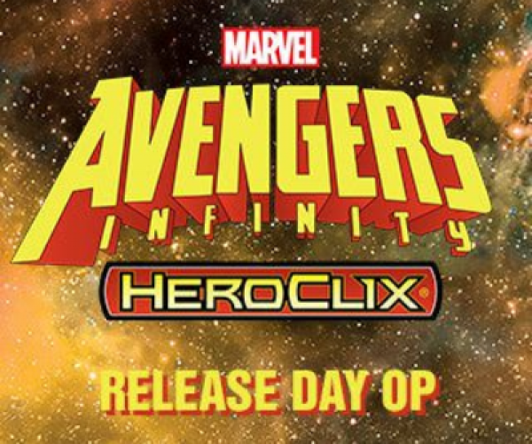 Marvel Heroclix - Avengers Infinity Release Day Organized Play Kit