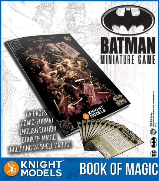 Batman Miniature Game: The Book of Magic
