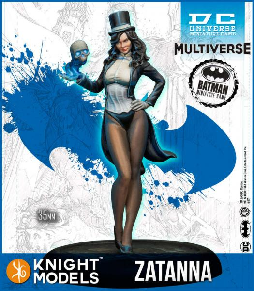 Batman Miniature Game: Zatanna (2nd Edition) (Resin)