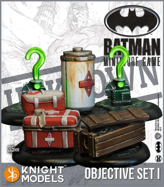 Knight Models DC Universe: (Accessories) Objective Game Markers Set 1