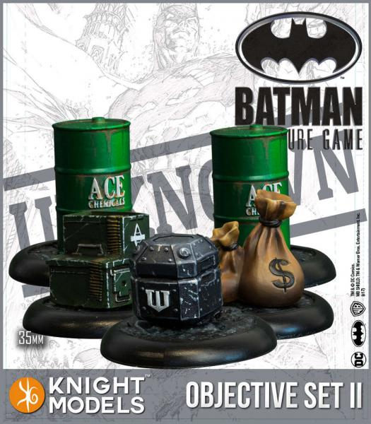 Knight Models DC Universe: (Accessories) Objective Game Markers Set 2