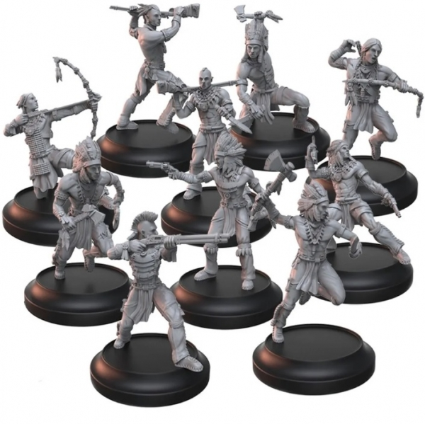 Wild West Exodus: Plains Warriors & Stalkers (10)