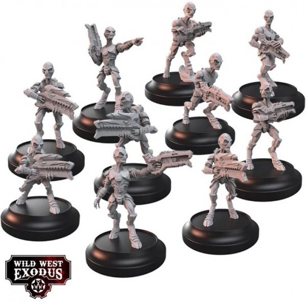 Wild West Exodus: Grey Pulse Myriad & Drain Myriad Box Set