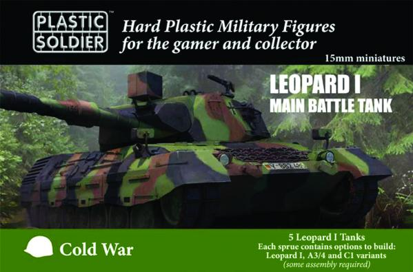 15mm Modern Cold War: Leopard 1 Tank