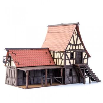 28mm Fabled Realms: Valian's Stables