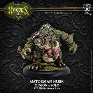 (Minions) Gatorman Husk – Minion Solo (1) (resin/metal)