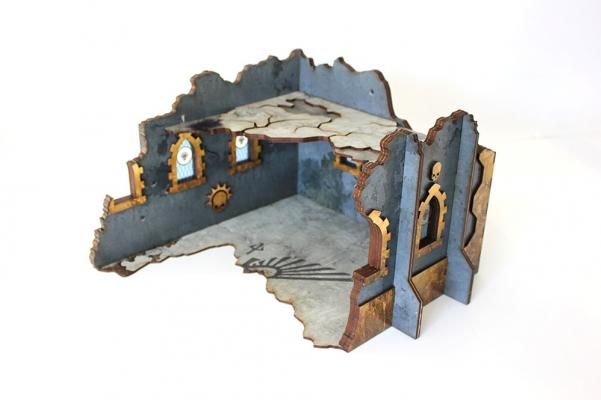 Miniature Terrain: Indomitus Aldan - Ruined Fortress