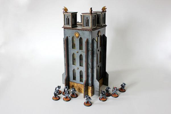 Miniature Terrain: Indomitus Aldan - The Bell of Souls Tower