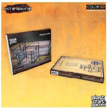 28mm Post Apocalypse: Prison Yard (Color ED)