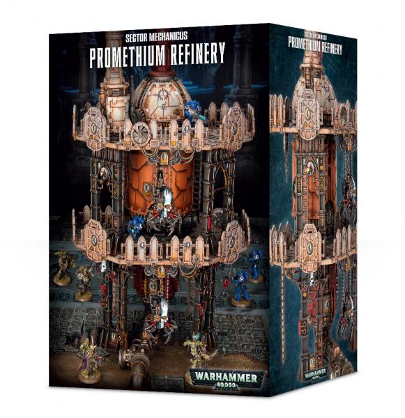Warhammer 40K: Promethium Refinery [Marked as 64-68]