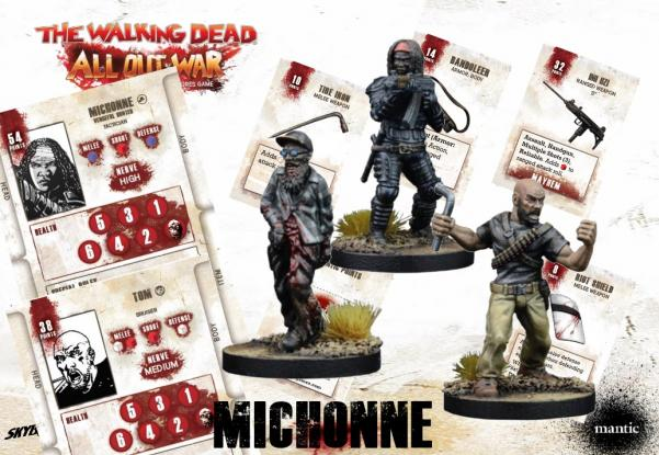 The Walking Dead: Michonne, Vengeful Hunter Booster (Retail Exclusive)