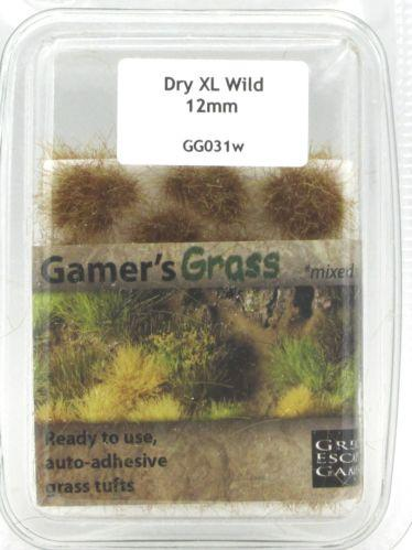 Gamer's Grass Dry 12mm XL Tufts Wild