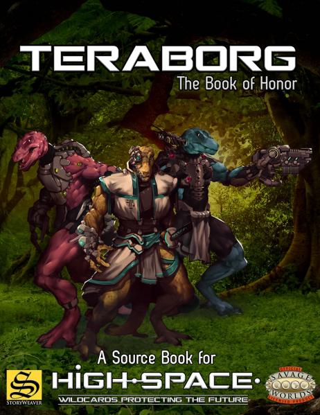 Savage Worlds RPG: High-Space Teraborg - The Book of Honor