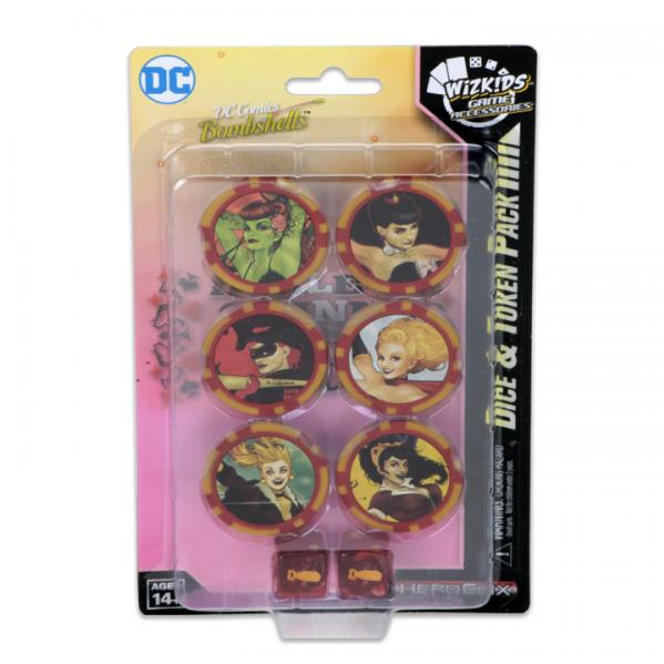 DC HeroClix: Harley Quinn and the Gotham Girls Dice & Token Pack