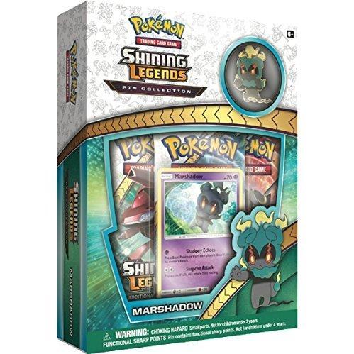 Pokemon CCG: Shining Legends Pin Collection - Marshadow