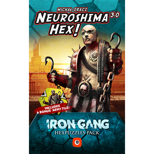 Neuroshima Hex 3.0: Iron Gang Hex Puzzles Pack