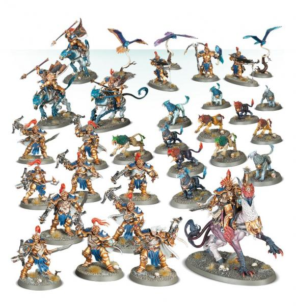 Age of Sigmar: Battleforce - Stormcast Eternals Vanguard Brotherhood