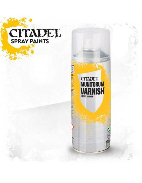 Citadel Spray Varnish: Munitorum Varnish