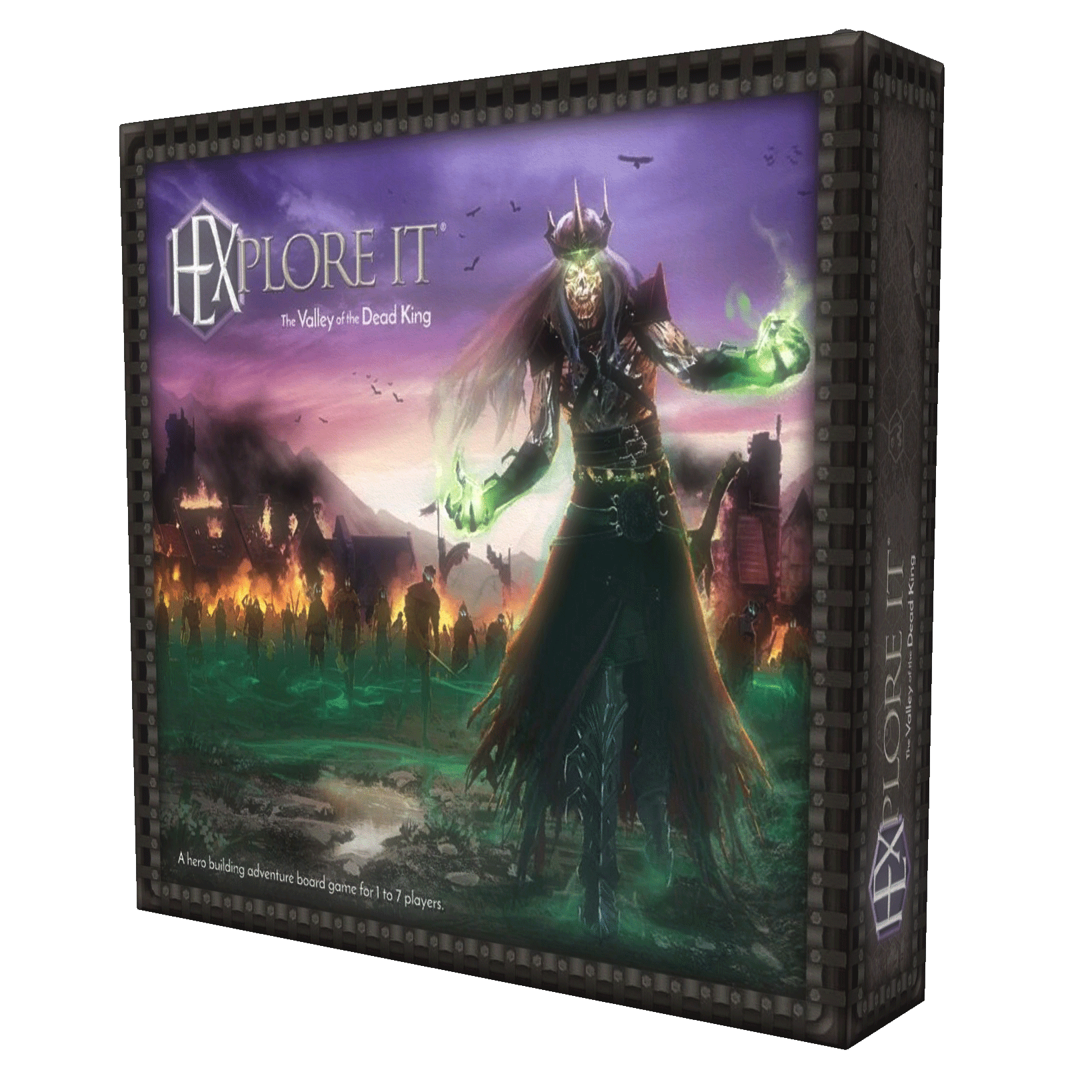 HEXplore It: The Valley of the Dead King  (Stand Alone Expansion)