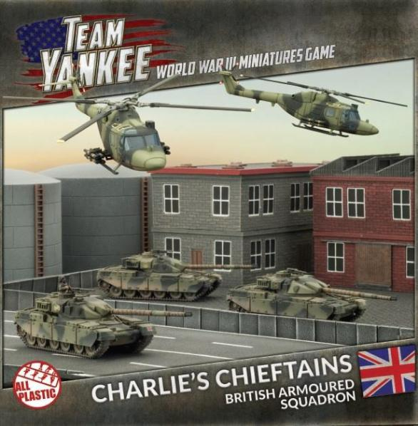 Flames Of War (Team Yankee): (British) Charlie's Chieftains (Revised) British Armored Squadron
