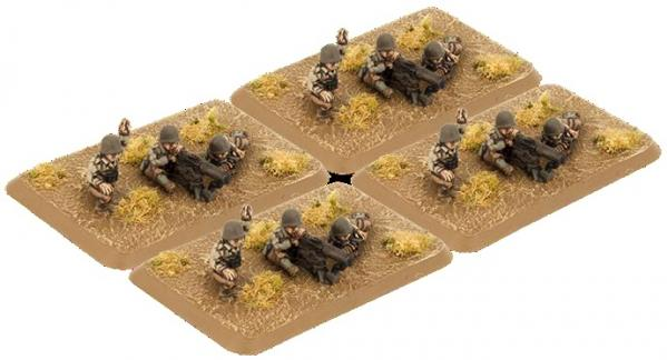 Flames of War: (US) M1917 Machine Gun Platoon (4)