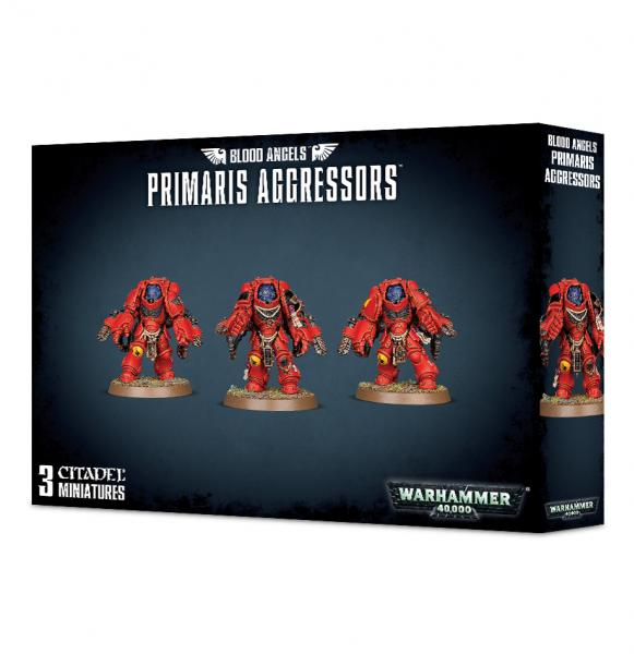 Warhammer 40K: BLOOD ANGELS PRIMARIS AGGRESSORS (3)