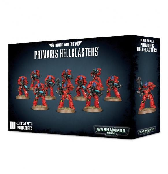 Warhammer 40K: BLOOD ANGELS PRIMARIS HELLBLASTERS (10)