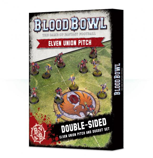 Blood Bowl: Elven Union Pitch & Dugouts