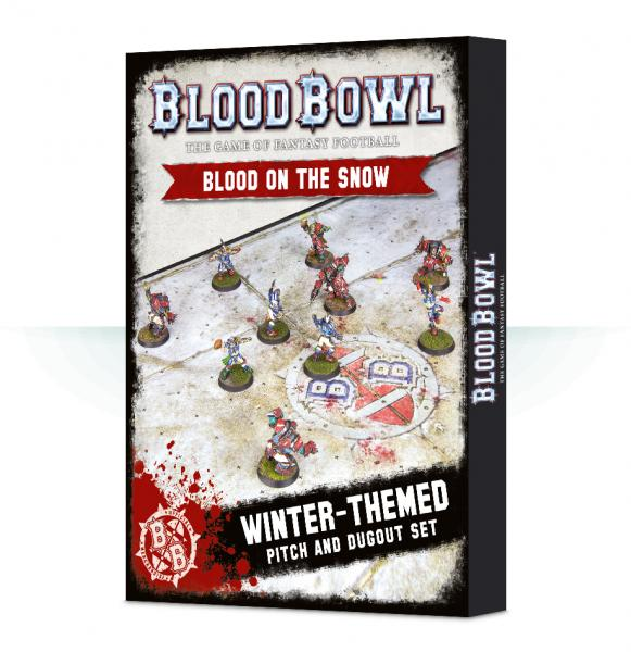 Blood Bowl: Blood on the Snow - Human / Orc Pitch & Dugouts